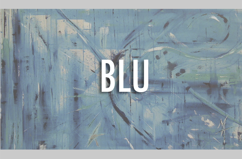 BLU SERIES THE BLU SERIES IS THE MUSE OF RAW EMOTION AND MUSIC, MIXED WITH AN OPAQUE STORY WITHIN CREATION. IT HELPED BIRTH THE FOUNDATION OF THE ABSTRACT STYLE THAT MATEO BLU ART IS WELL KNOWN FOR. THE SERIES USES THE EMOTIONALLY BALANCED HUE OF BLUE AND A FEW SUPPORTIVE COLORS TO HEIGHTEN PARTICULAR MOODS CAPTURED.