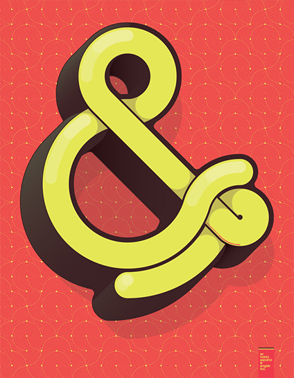 009. Ampersand by  Alexander Wright