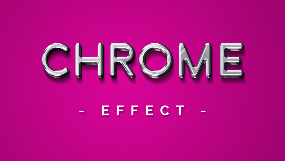 Chrome Effect