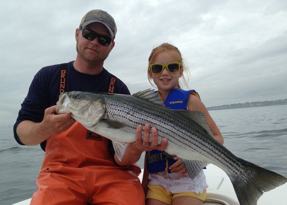 Captain Pete Yukins, lead Kids Fishing Camp guide
