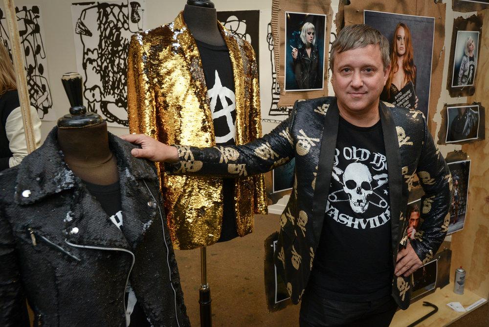 Designer Andrew Clancey