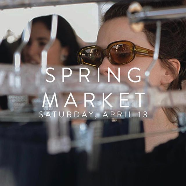 Tomorrow! (4/13) @elizsuzann is having their Spring Market and sample sale from 1-5! Who else will be there? 🙋🏽‍♀️🙋🏻‍♀️🙋🏿‍♀️🙋🏼‍♀️ #repost