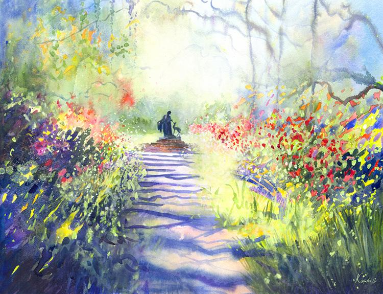 Garden Path - (Sold)