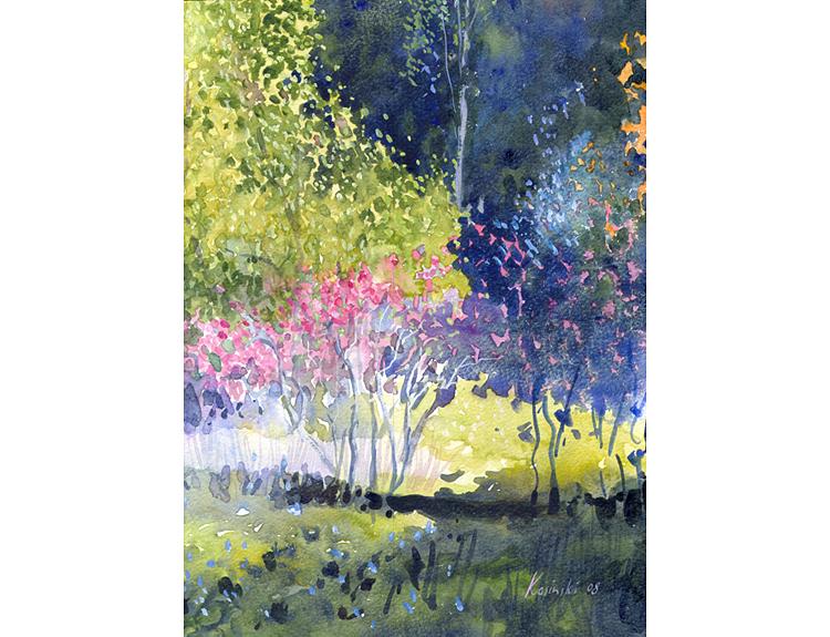 Wild Azaleas - (Sold)