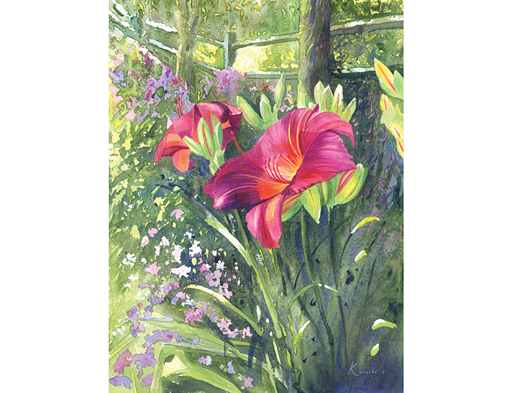 Daylilies - (Sold)