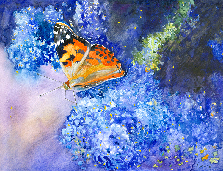 Painted Lady - (Sold)