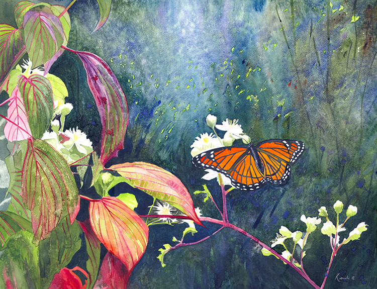 Monarch Butterfly - (Sold)