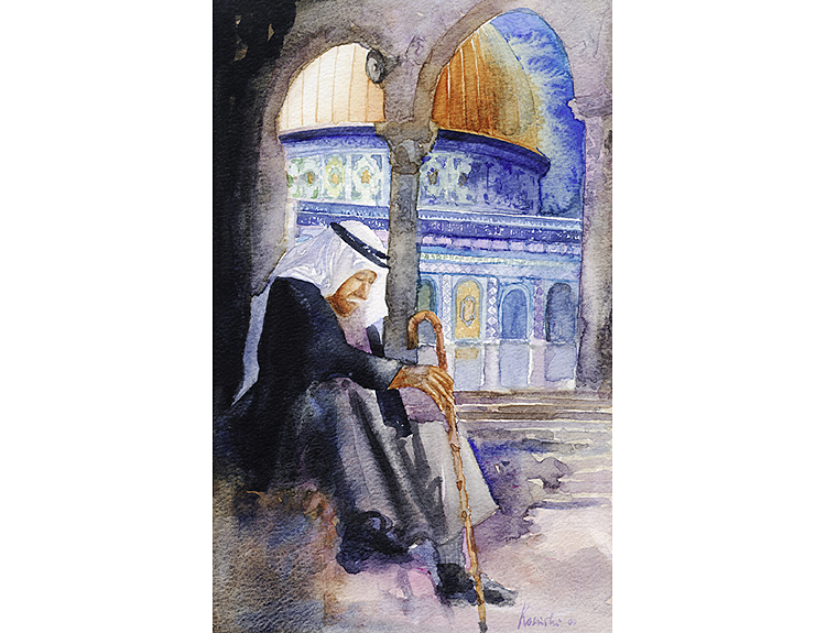 Deep Thought, Jerusalem - (Sold)