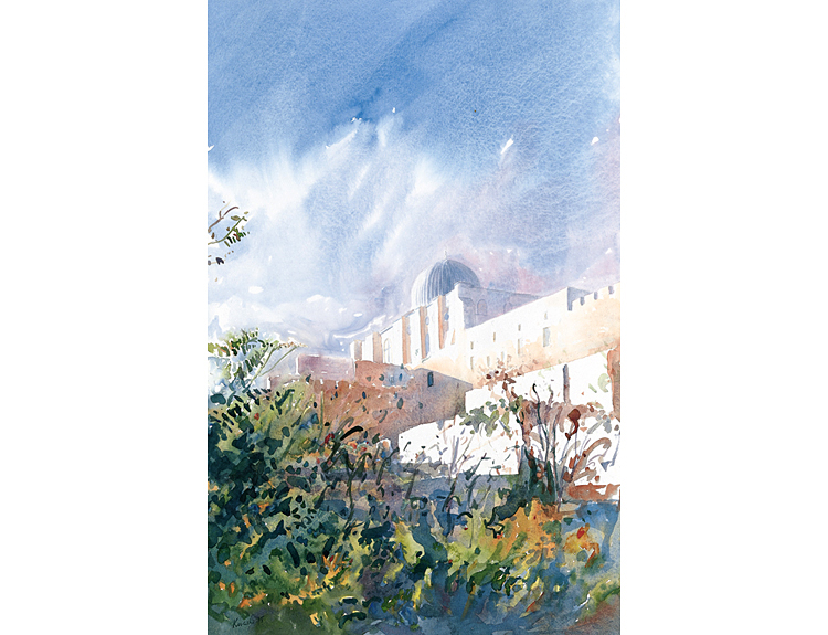 Autumn in Jerusalem - (Sold)