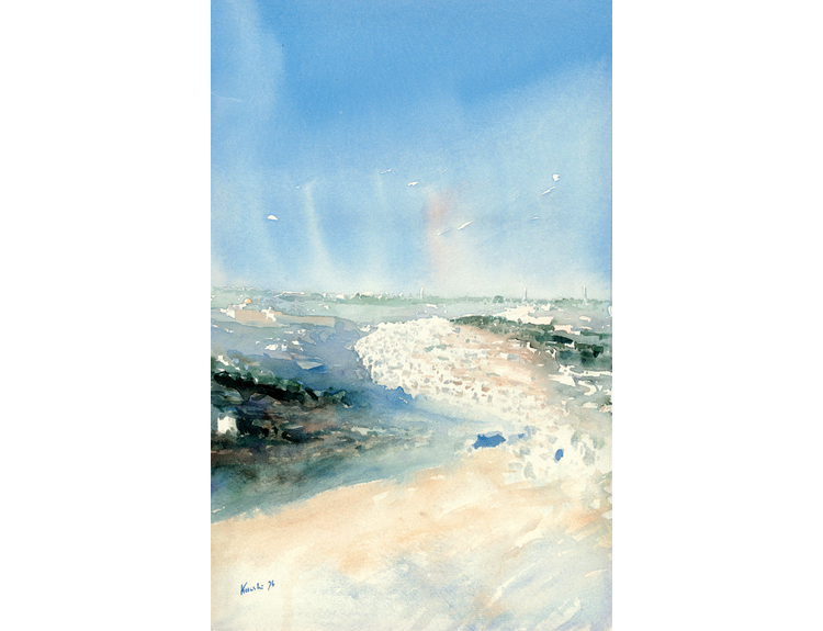 Jerusalem from the South - (Sold)