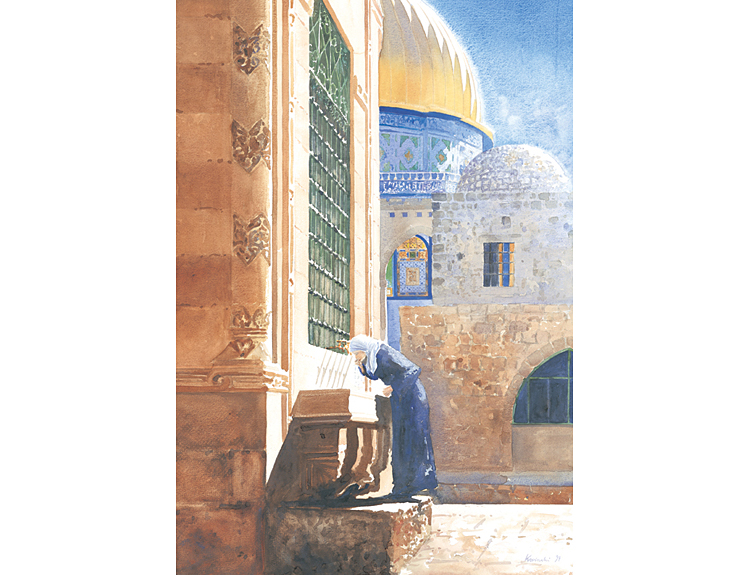 Quenching Thirst, Jerusalem - (Sold)
