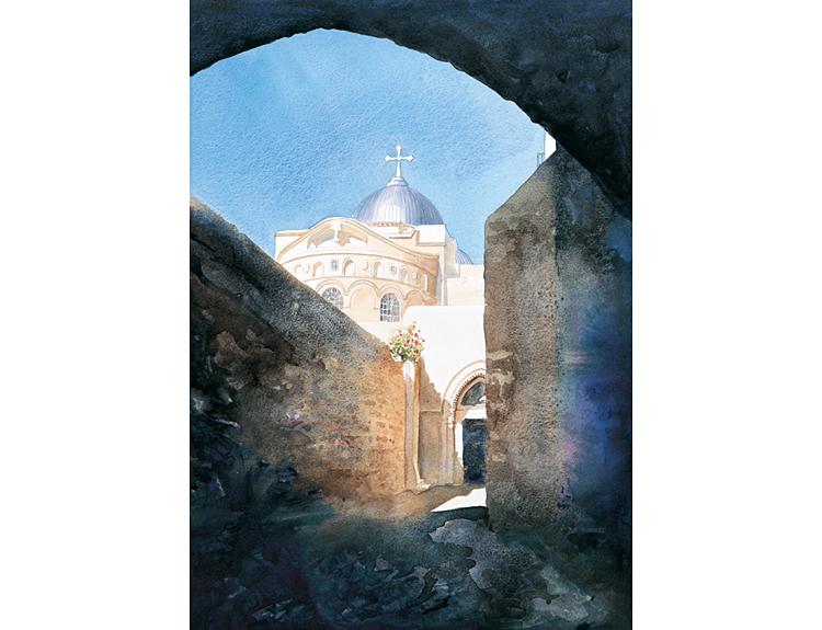 Holy Sepulchre, Jerusalem - (Sold)