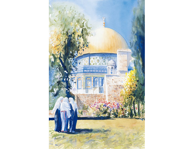In Conversation, Jerusalem - (Sold)