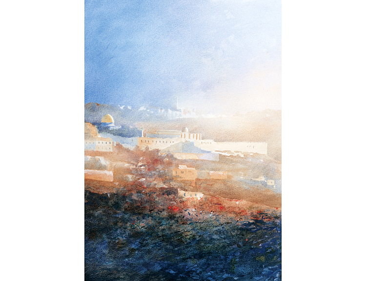 Jerusalem Mists - (Sold)