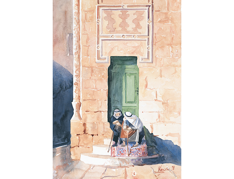 Dialogue, Temple Mount - (Sold)