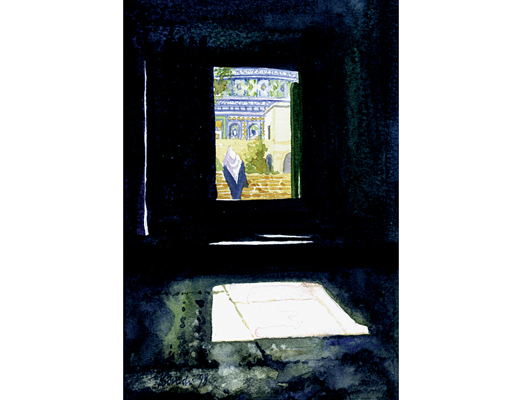 Gate to the Temple Mount - (Sold)