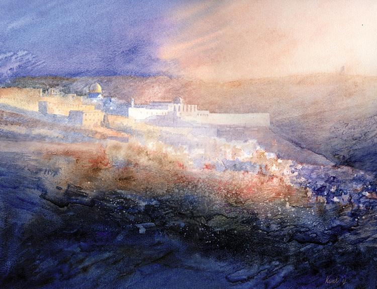 Jerusalem - (Sold)