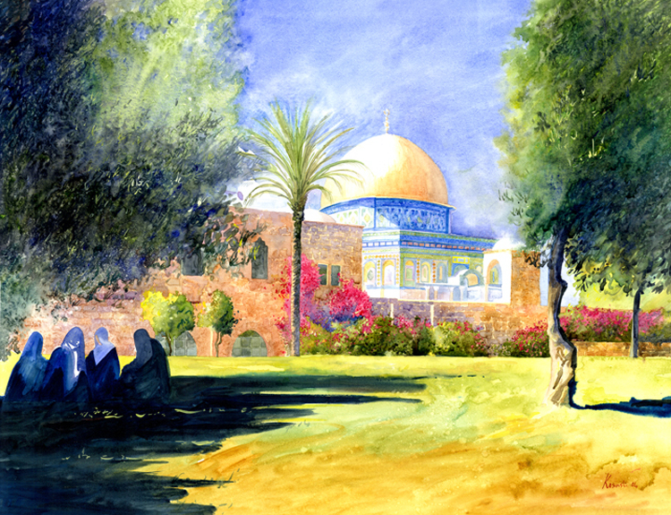 Dome of the Rock, Jerusalem - (Sold)
