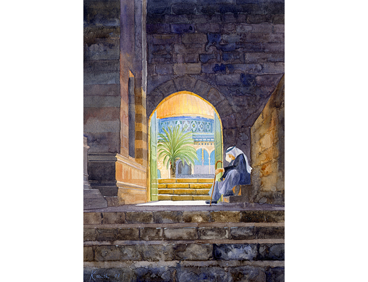 Gate of Ablutions, Jerusalem - (Sold)