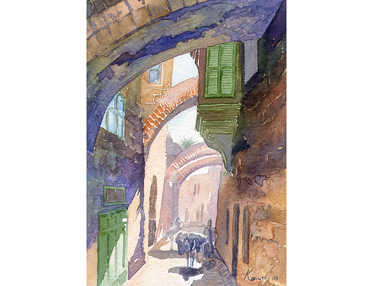 Via Dolorosa, Jerusalem - (Sold)
