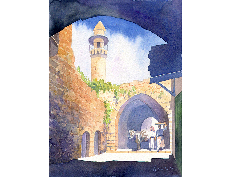 Old City, Jerusalem - (Sold)