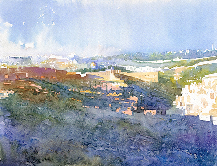 Kidron Valley, Jerusalem - (Sold)