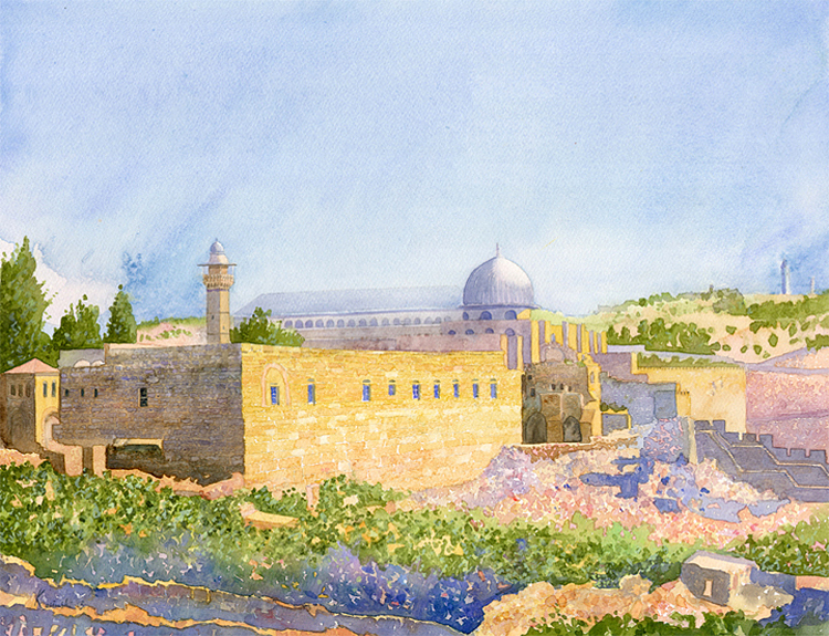 Jerusalem Unexcavated - (Sold)