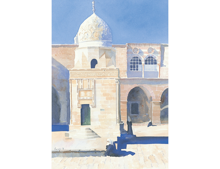 Fountain of Sultan Qaytbeh, Jerusalem - (Sold)