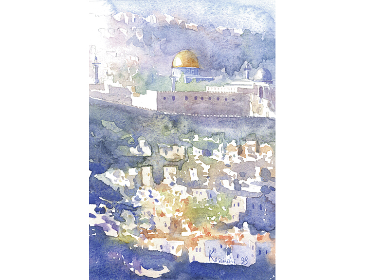 Jerusalem Evening - (Sold)