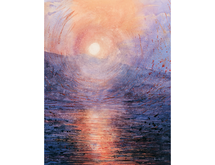 Dead Sea Sunrise (Sold)