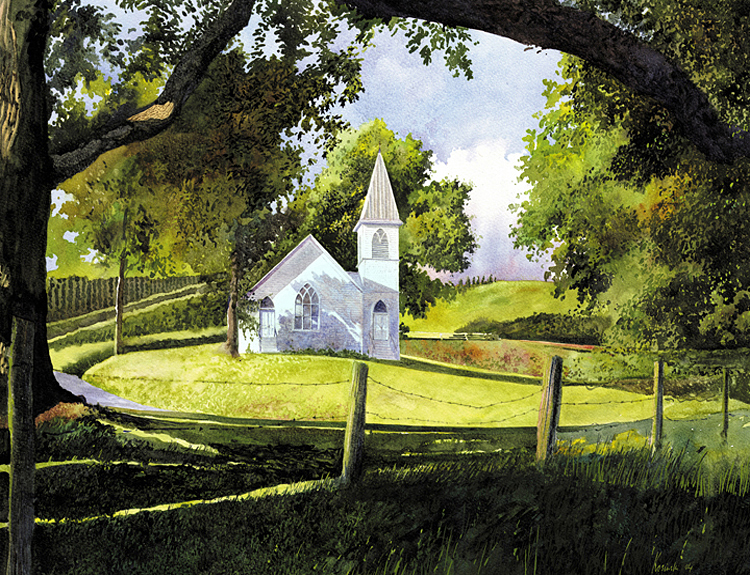 Grassy Creek Methodist Church, NC - (Sold)