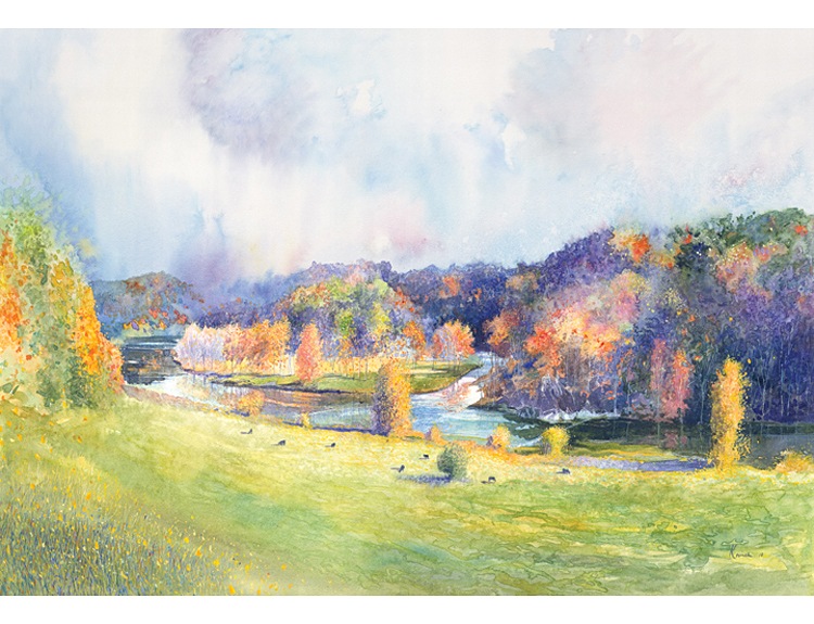 Confluence of the New River - (Sold)
