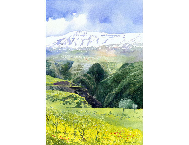 Faqra and Qadisha Valley, Lebanon (Sold)