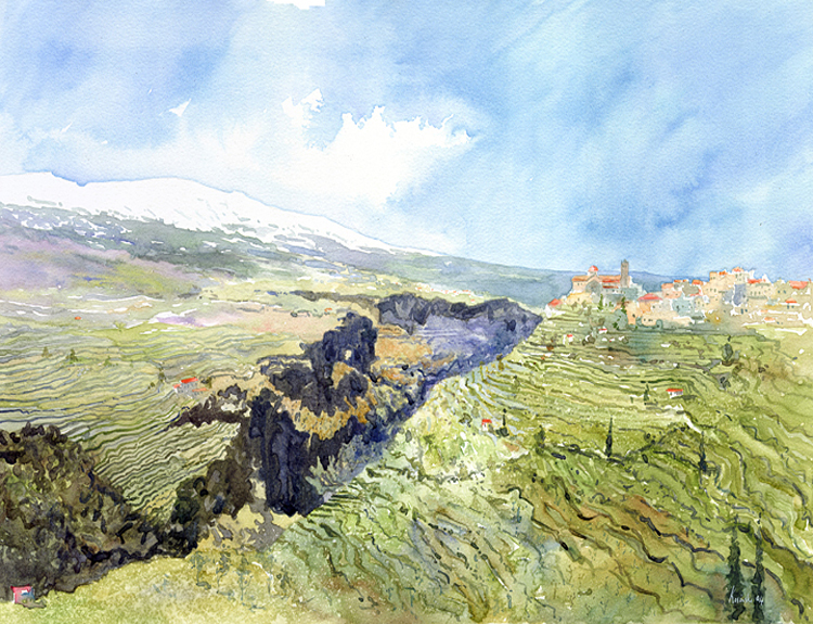 Bcharre and Qadisha Valley, Lebanon (Sold)