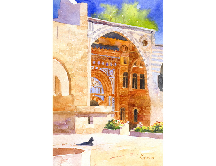 Palace of Beit Eddine, Lebanon (Sold)