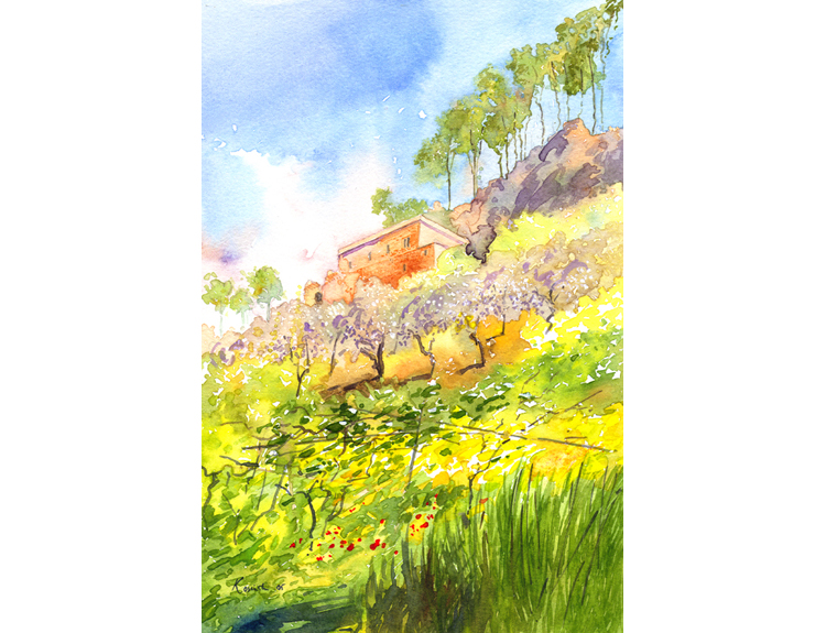 Qanubine, Qadisha Valley, Lebanon (Sold)