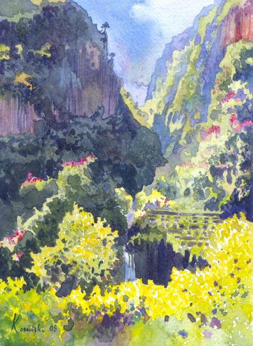 Qadisha Valley, Lebanon (Sold)