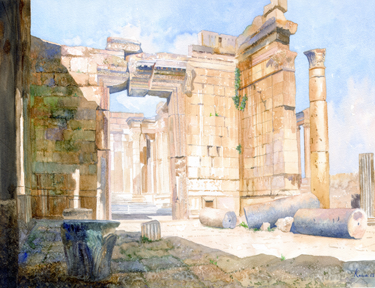 Temple of Bacchus, Lebanon (Sold)