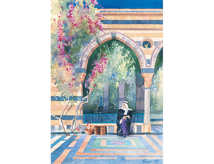 Azem Palace, Damascus, Syria (Sold)