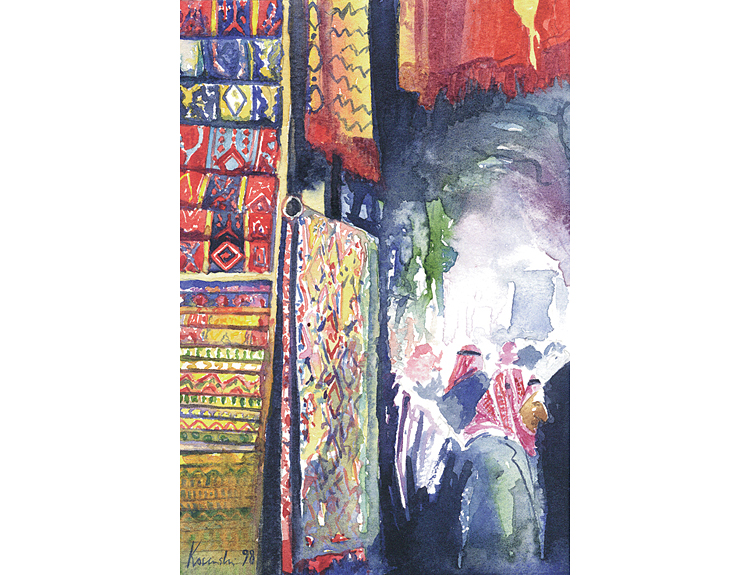Old Souq, Aleppo (Sold)