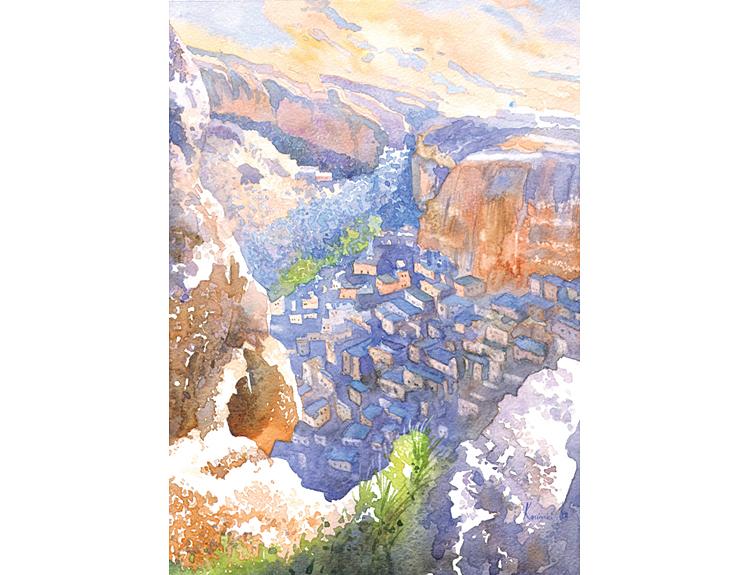 Ma'loula, Syria (Sold)