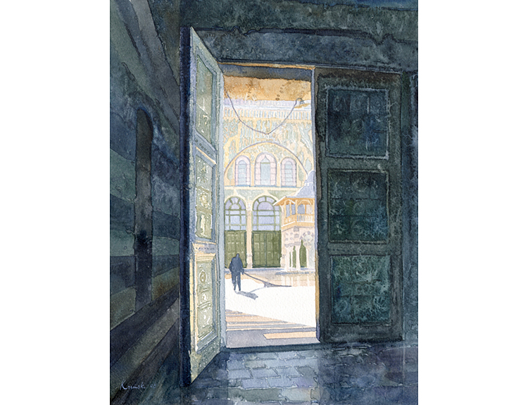 Umayyad Courtyard, Syria (Sold)
