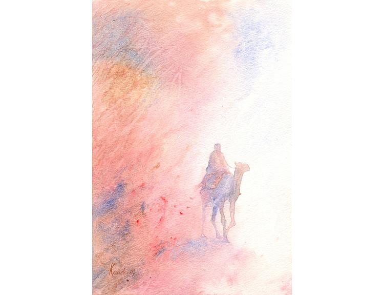 Camel Rider (Sold)