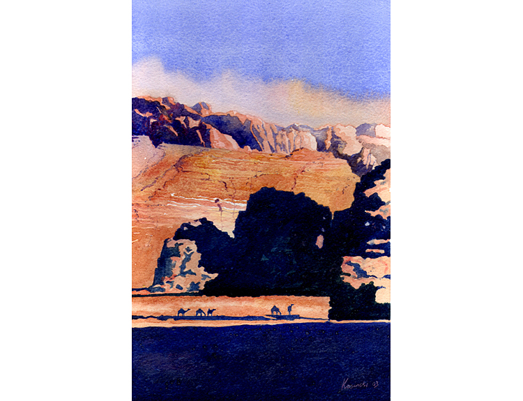 Camels in Wadi Rum (Sold)