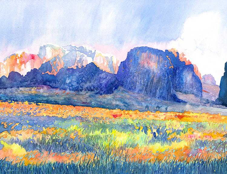 Wadi Rum 4 (Sold)