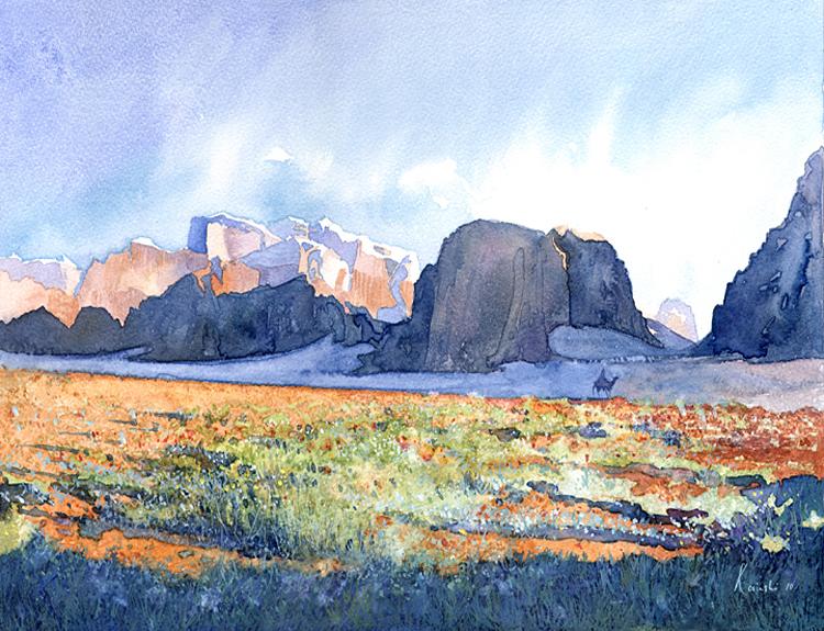 Wadi Rum 3 (Sold)