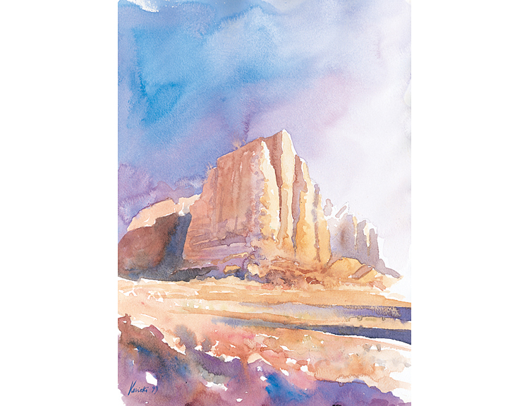 Pillars of Wisdom, Wadi Rum (Sold)