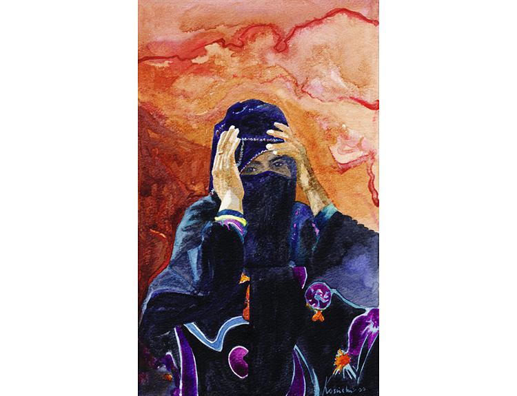 Bedouin Consternation (Sold)