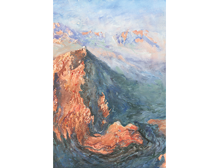 Mount Sinai from Jebel Katerina (Sold)