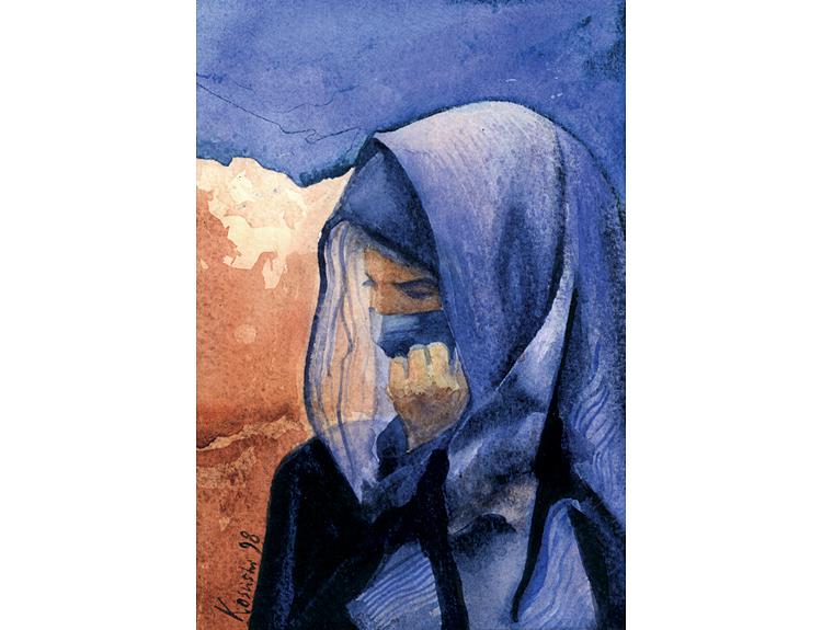 Bedouin Pondering (Sold)
